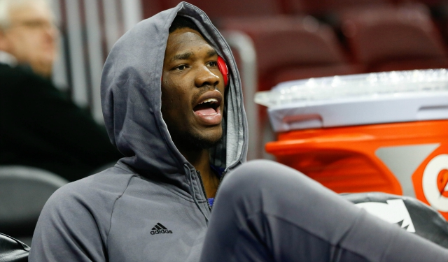 Report: Sixers' Joel Embiid rebroke navicular bone in his right foot