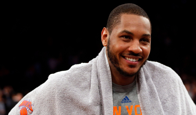 Carmelo Anthony is getting into a new game.