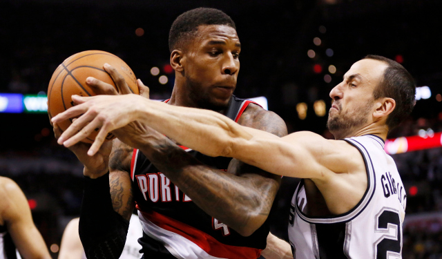 Thomas Robinson is going to have to keep that hand away from trouble.