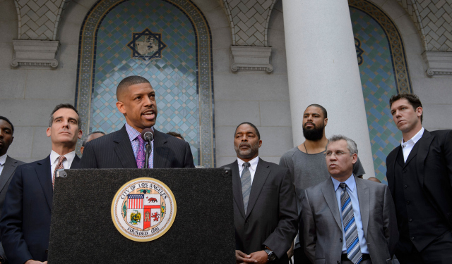 Kevin Johnson is stepping away from the NBPA.