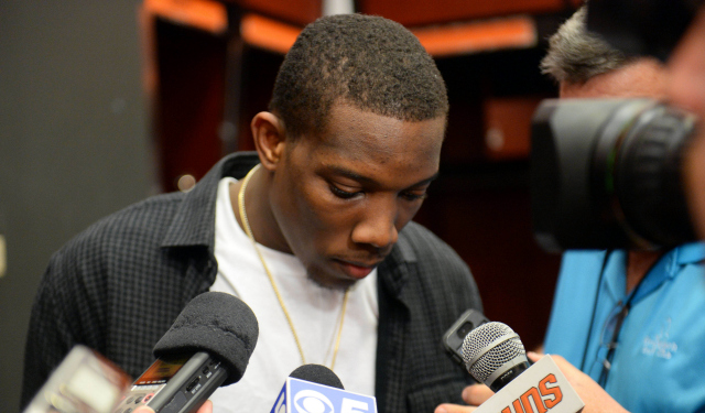Eric Bledsoe isn't saying a lot about his situation.
