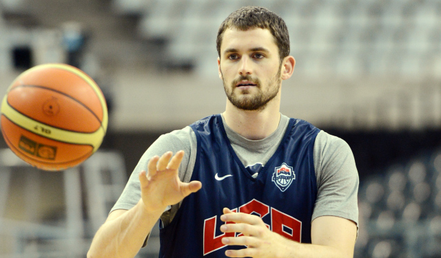 Kevin Love won't be wearing a Team USA jersey this summer.