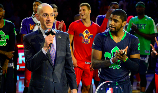 Adam Silver is listening to the players.