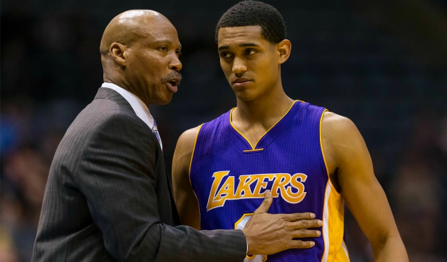 Byron Scott sees Jordan Clarkson as a big part of LA's future.  (USATSI)