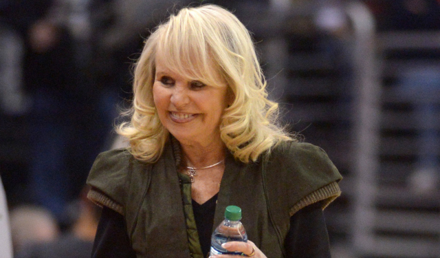 It's a good day for Shelly Sterling.