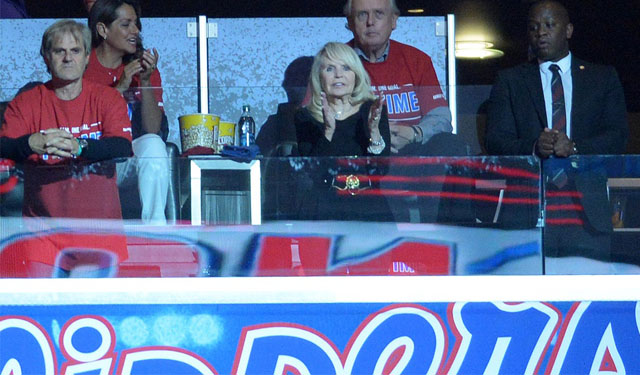 Donald Sterling tried to keep Shelly Sterling with some power.