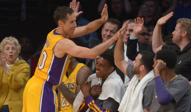 Steve Nash wants to have one last hurrah in the NBA.