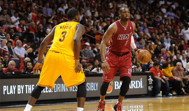 Waiters can learn a lot from studying Wade's game.