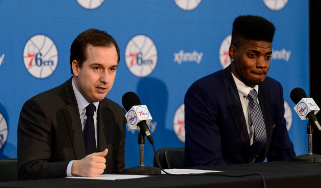 Sam Hinkie and the Sixers don't want draft reform just yet.