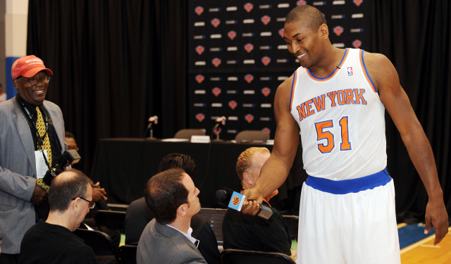 Metta World Peace is always having fun.