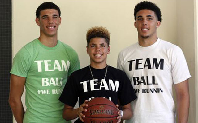 The Ball Family Coming To A Basketball Court And Tv Near You