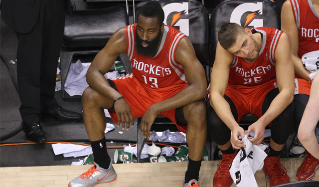 Harden and Parsons are just fine together.