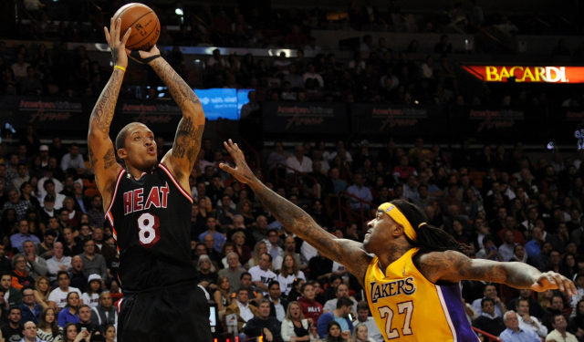Michael Beasley reportedly worked out for the Lakers.