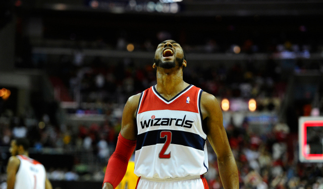 John Wall is excited about the Wizards.