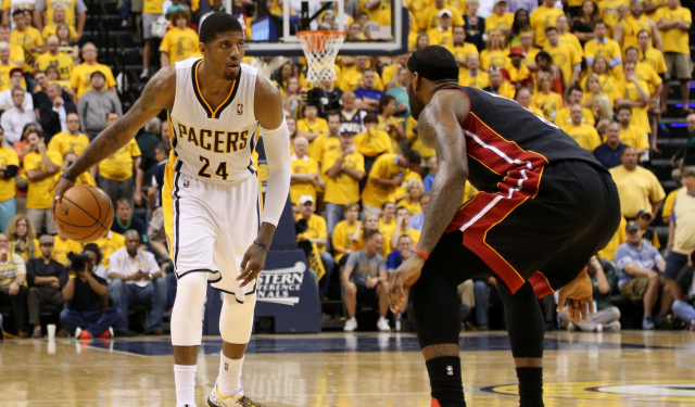 Paul George sees the scene has shifted in the East.