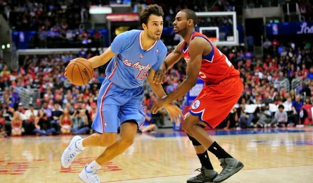e143fd3a962 Report  New York Knicks to sign former Laker Sasha Vujacic ...