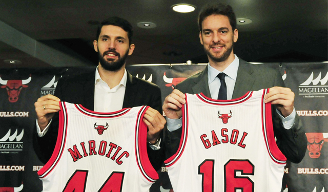 The Bulls have added some major offensive help for the return of Rose.