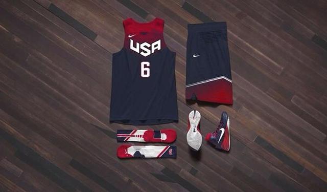Nike Usa Basketball Reveal Their Uniforms For Fiba World Cup