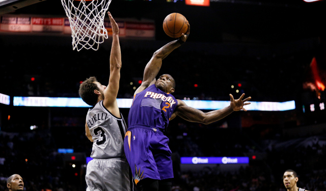 Eric Bledsoe is frustrated with the Suns.   (Getty)