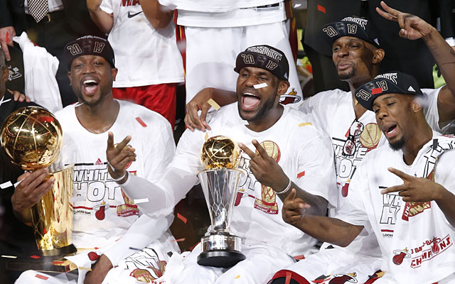 LeBron James helped bring two NBA titles in four years to Miami. (USATSI)
