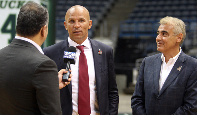 In the first season, Jason Kidd should make things weird in Milwaukee.
