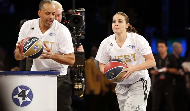 Becky Hammon becomes the first female assistant coach in the NBA.