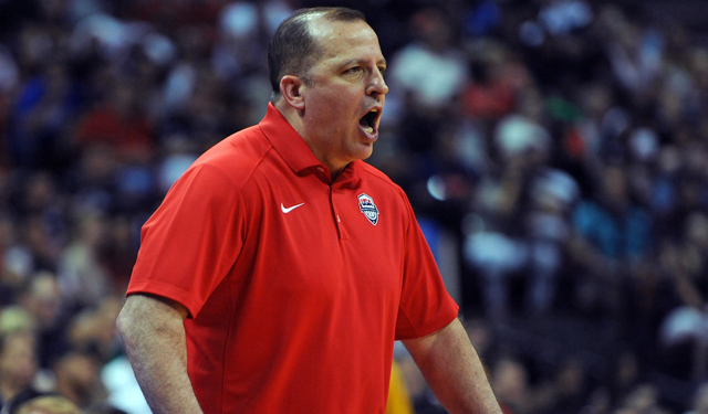 Roster is down to 16 people for Tom Thibodeau to yell defensive instructions to.
