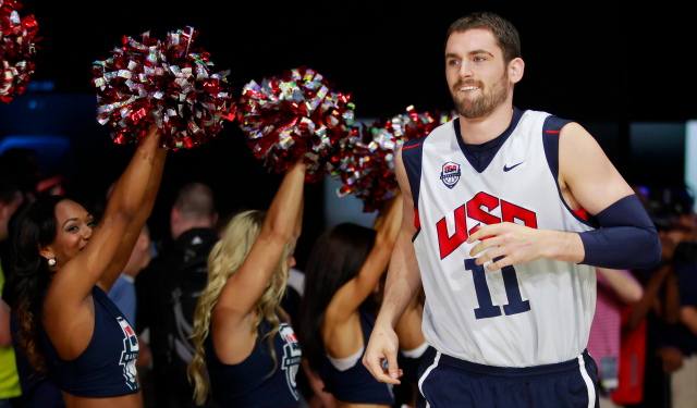 Kevin Love likely won't suit up for Team USA this summer.  (USATSI)