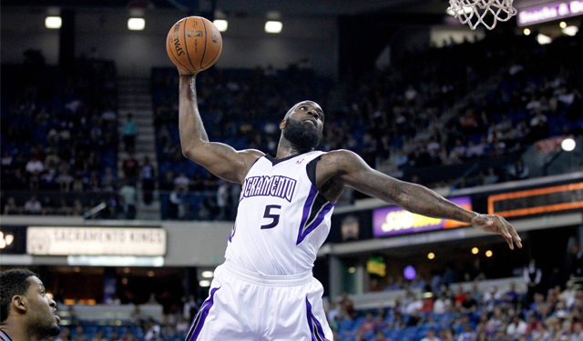Quincy Acy will do his dunking in New York.