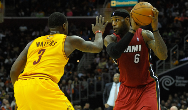 Waiters said he and LeBron talked before the Decision.