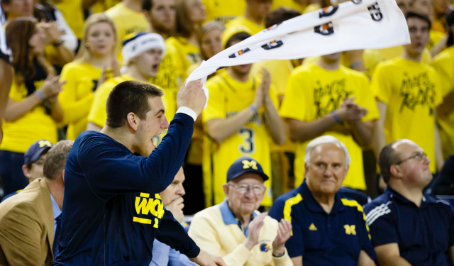 The Thunder hope Mitch McGary can provide more than towel-waving.  (USATSI)