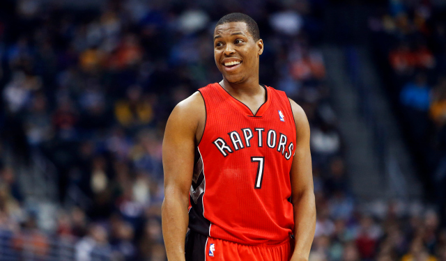 Kyle Lowry is pleased with his new deal and the direction of his team.  (USATSI)