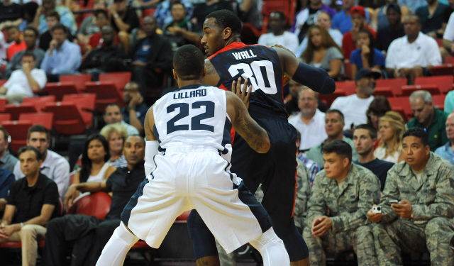 John Wall is not going to Spain for the 2014 FIBA World Cup.  (USATSI)