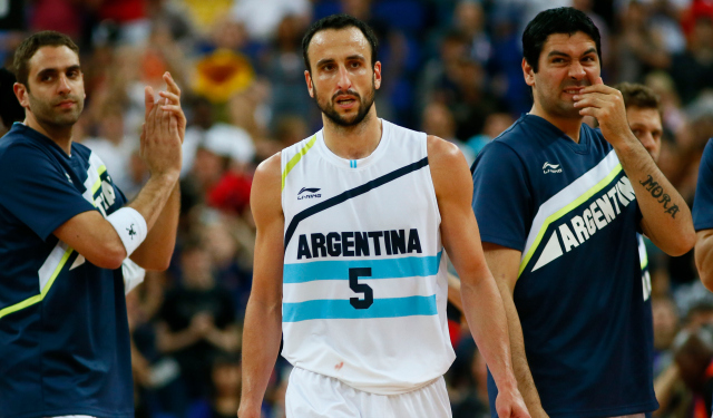 Manu Ginobili is finished in terms of international competition.  (USATSI)