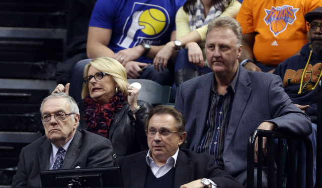 Larry Bird has an offer on the table for Shawn Marion.  (USATSI)