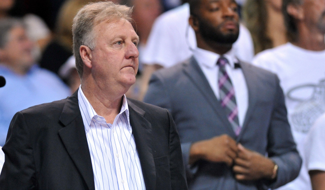 Larry Bird has a tough task in keeping Indiana competitive.  (USATSI)