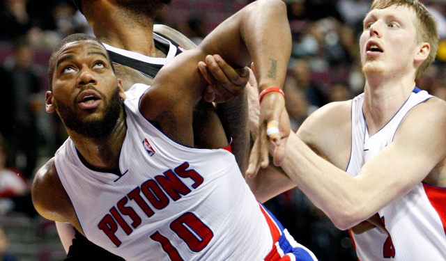 Greg Monroe's looking for leverage in restricted free agency.  (USATSI)