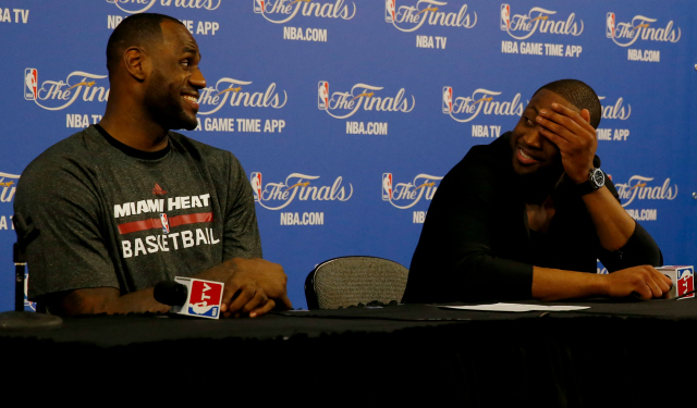 LeBron James and Dwyane Wade have Christmas plans.  (USATSI)