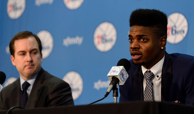 The Sixers are betting on big things from Nerlens Noel.  (USATSI)