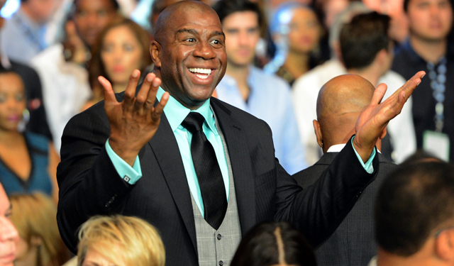 Magic Johnson turns 55 on Thursday.