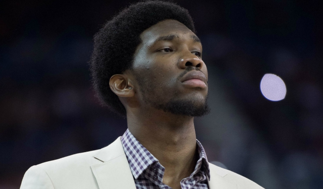 Joel Embiid is in recovery mode again.  (USATSI)
