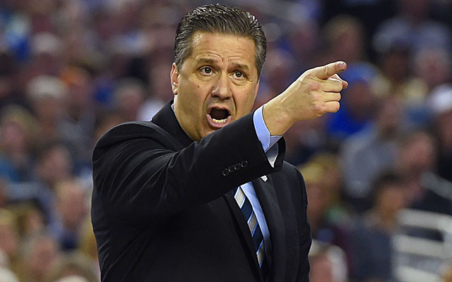 John Calipari's team appears better (and deeper) than last year's Wildcats squad. (USATSI)