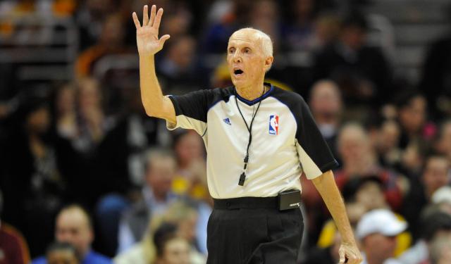 Dick Bavetta is waving goodbye to the NBA.  (USATSI)