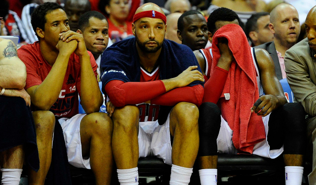 Drew Gooden reportedly won't get to represent Finland this summer.  (USATSI)