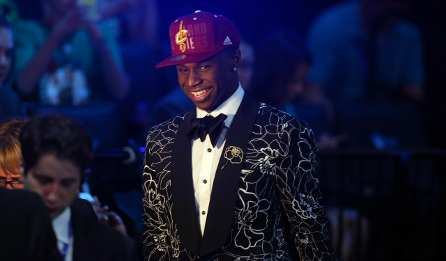 New Wolves forward Andrew Wiggins can throw away that hat.  (USATSI)