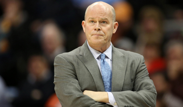 Steve Clifford is preparing for his second season in Charlotte.  (USATSI)