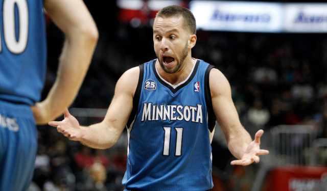 J.J. Barea is reportedly on the outs in Minnesota.  (USATSI)