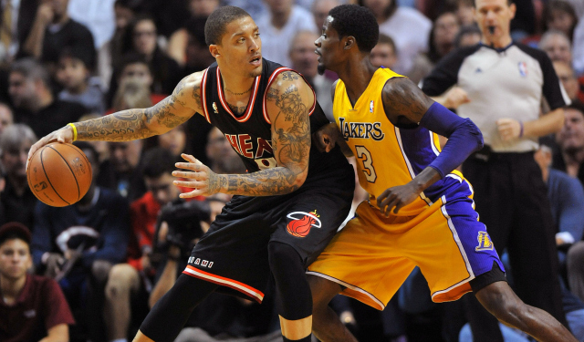 Michael Beasley is still unsigned.  (USATSI)