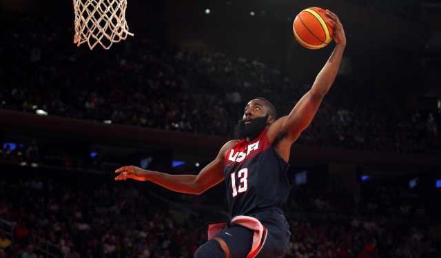 James Harden is starring for Team USA this summer.  (USATSI)