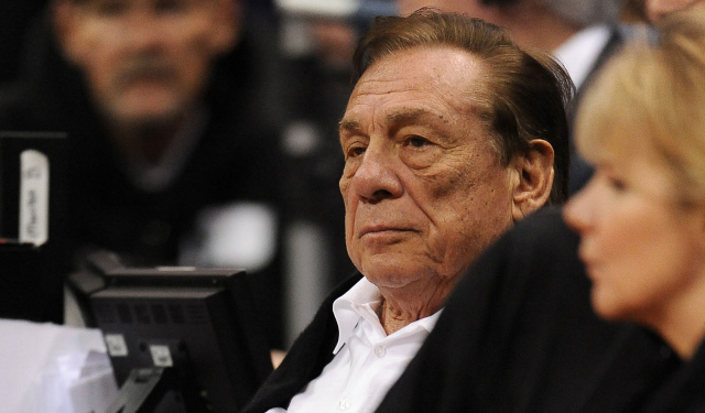 Donald Sterling is basically giving up.  (USATSI)